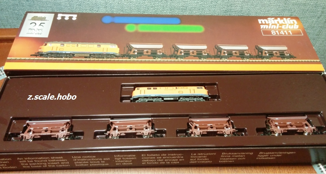 MARKLIN 81411 Train Set: z scale hobo