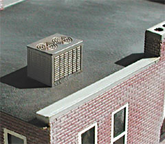 Z Scale: Rooftop AC Units For Micro Structure Town Buildings Z.scale.hobou0027s  Price: $3.50. Manufactureru0027s Description: These Roof Top Air Conditioner  Units ...